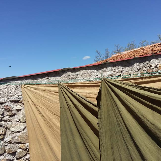 Colores tierra con Tintes Ntaurales_Earth colors with natural dyes