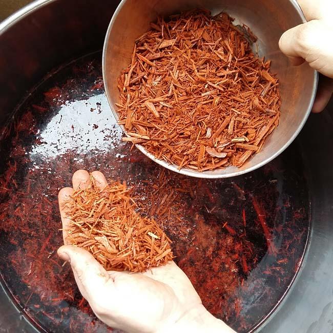 Palo campeche tintes naturales_Logwood natural dyes