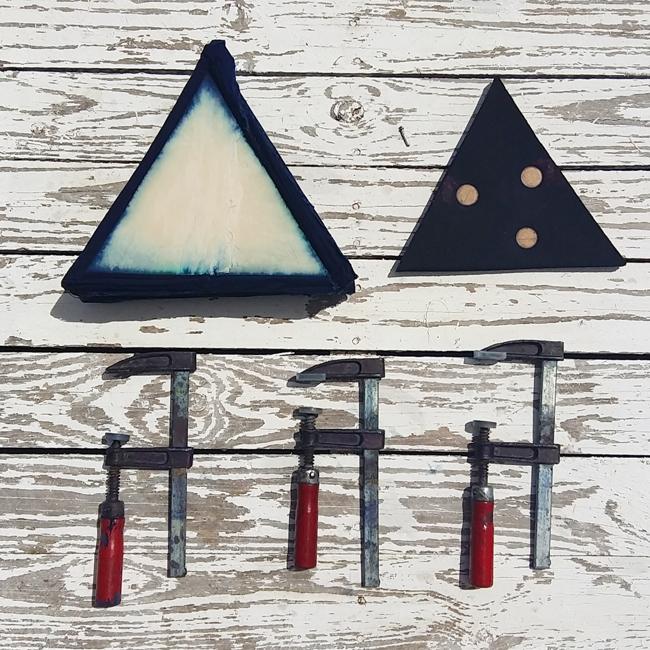 Shibori Triangle Inspiration_Itajime